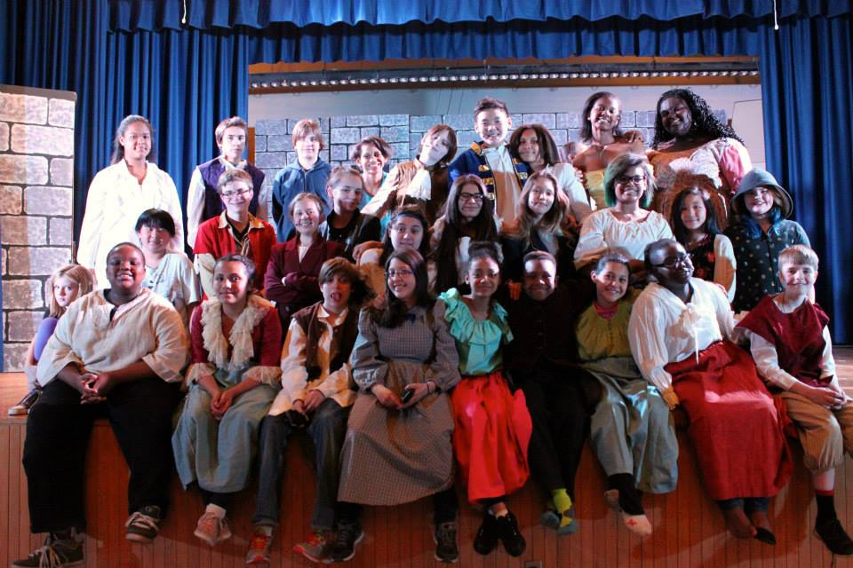 The Cast of Beauty and the Beast, Northeast Middle School
