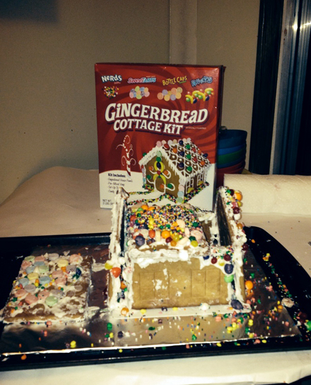 Final Gingerbread House